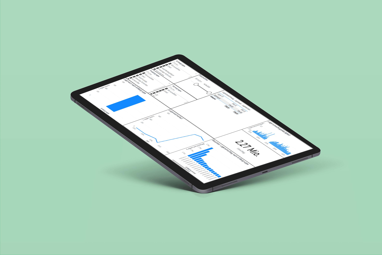 PowerBI Report Tablet